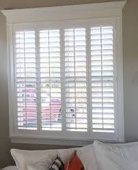 beautiful home trim work and our plantation shutters don t worry don t wait call now 800 528 7866 or louver com