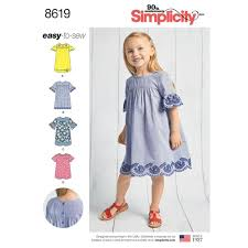 Simplicity Pattern 40 Child's Easy To Sew Dresses Awesome Simplicity Patterns