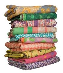 5pc wholesale set of Vintage Kantha Throws Queen Quilted kantha ... & 10 Vintage Kantha Quilt Gudri Reversible Throw Ralli Bedspread Bedding  India Quantity: 10 Quilts Sizes: Inches approximately( Exact Adamdwight.com