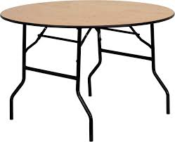 48 round plywood banquet table