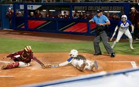 ucla softball shuts out florida state