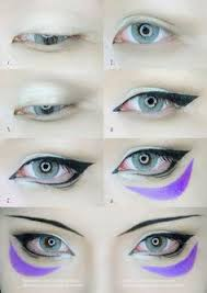 best ideas for makeup tutorials one punch man onsoku no sonic eyes makeup tutorial by