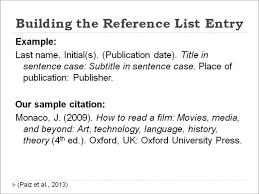 Example Of A Citation Apa Format Granitestateartsmarketcom