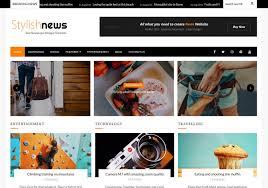 Stylish News Blogger Template Blogspot Templates 2019