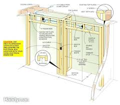 how to build a walk in closet step by step figure a closet framing details