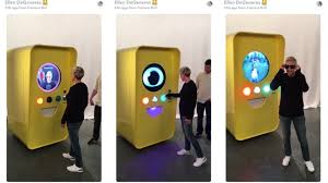 Snapchat Vending Machine Interesting Watch Ellen DeGeneres Show Off Spectacles Before Anyone Else