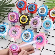<b>Hot Sale</b> 3D <b>Cartoon</b> Projection Watch For Kids Toys Gift | Shopee ...