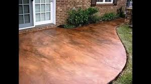 stained concrete patio.  Patio And Stained Concrete Patio E