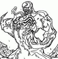 Small Picture Spiderman Vs Venom Coloring Pages Printable Kids Colouring Pages