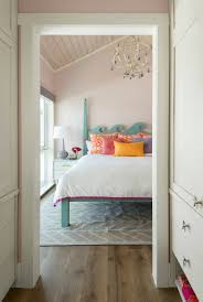 colorful coastal bedroom by Studio80 Interior Design | Beautiful ...