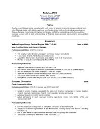 Resume For Job In Canada