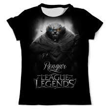 Футболка с полной запечаткой (мужская) <b>League of Legends</b> ...