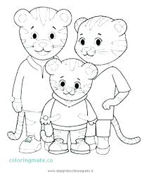 Kids Coloring Pages With Kids Coloring Tiger S Neighborhood