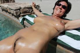 Milf by the pool