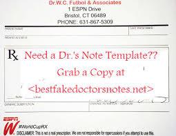 Dr Note 520a303191b02819096dc8f74c1e1fea Fake Doctors Note For Work