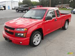 Victory Red 2005 Chevrolet Colorado LS Extended Cab Exterior Photo ...