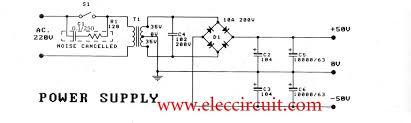 2 channel 100w stereo audio amplifier circuit by stk4231ii 2 channel 100w min af power amplifier s
