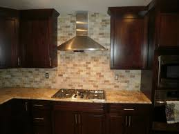 Tumbled Marble Kitchen Backsplash Integrity Installations A Division Of Front Range