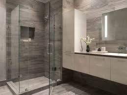 bathroom modern tile. Unique Modern Bathroom Tile Gray Residential Inspirations San Francisco CA White Glass Enclosed O