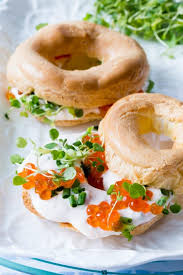 thermomix salmon choux bagels