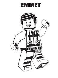 Kids N Funcom Coloring Page Lego Movie 2 Emmet