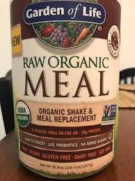 i use the garden of life raw organic meal and my label is diffe than what is posted previously i love this product