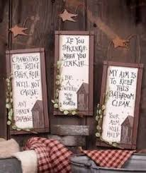 outhouse doors signs bathroom wall decor set of 3 welcome privy outhouse amazon home kitchen rustic decor pinterest bathroom wall decor  on primitive outhouse bathroom wall art set of 3 with outhouse doors signs bathroom wall decor set of 3 welcome