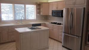 Kitchen Cabinet Refinishing Before And After