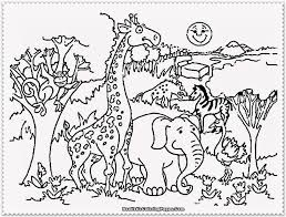 Easy Animal Coloring Pages For Kids At Getdrawingscom Free For