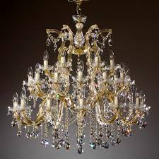 venice crystal chandelier 30 arms brass or nickel 999