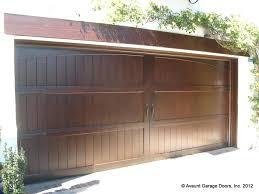 stain wood doors semi custom wood garage doors ca garage door installation beach staining and sealing