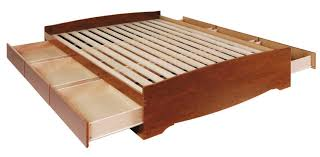 king platform bed with storage drawers. Bed With Storage Euro In Walnut Bedroom Also King Platform Drawers