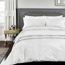 broomhill rosie bedding in white