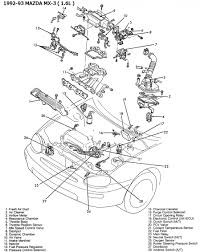 Mazda B2200 Engine Schematic