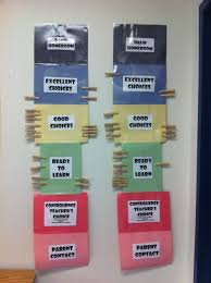 Classroom Management Chart Ideas Diy Classroom Behavior Chart I Made This With Construction