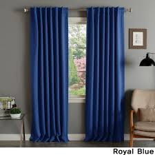 Aurora Home Solid Thermal Insulated 108-inch Blackout Curtain Panel Pair -  52 x 108 - Free Shipping Today - Overstock.com - 12217553
