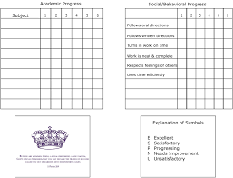 Report Card Template Free Homeschool Report Card Template 24 Free Business Template 6
