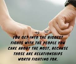 Fight For What You Love Quotes Stunning Tell You Partner These Cute Lovely Quotes After Fights EnkiQuotes