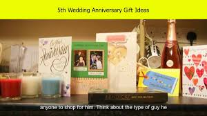 5th wedding anniversary wood gift ideas for him