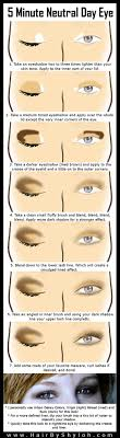 5 minute natural neutral eye makeup step by step