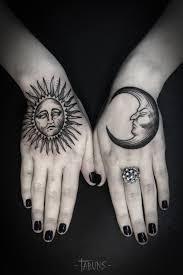 тату солнце с луной поиск в Google тату как произведения