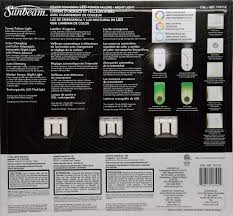 Sunbeam Night Light Power Failure Details About Sunbeam Color Changing Led Power Failure Night Light 3 Pack