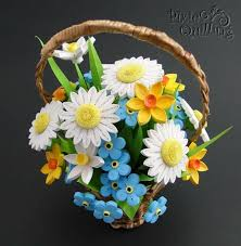Paper Quilling Flower Baskets Paper Quilling Flower Basket 3d Best Paper Quilling D Quilling