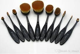 oval makeup brushes anastasia. 10 pcs foundation brush anastasia oval makeup brushes cosmetic bb cream powder blush n