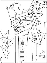 Kleurplaat Vuilniswagen Kleurplatennl