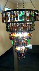 chandeliers whiskey bottle chandelier enchanting collection fantastic chandeliers milk plat whisky