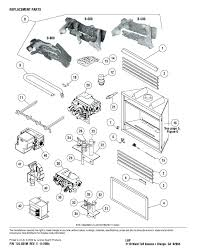 fireplace insert parts superior fireplace parts insert replacement expanded list fireplace insert parts diagram