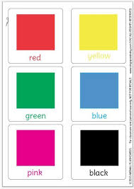 Glenn doman / makoto shichida methods, colors and shapes activities for preschoolers and toddlers. Singaporebaby Com 14 Color Flashcards Flashcards Free Printables