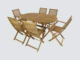 wooden garden furniture tables