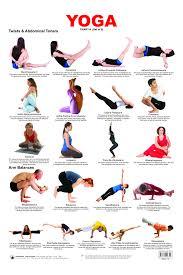 Educational Charts Series Yoga Chart 4